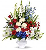 Funeral Flowers: With Distinction Bouquet