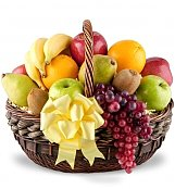 Fruit Gift Baskets: Heartfelt Sympathy Fruit Basket