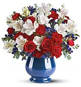Flower Bouquets: Sweet Liberty Bouquet