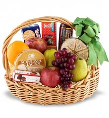 Fruit Gift Baskets: Holiday Banquet Gourmet Fruit Basket