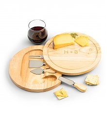 Personalized Keepsake Gifts: Engraved Cheese Board with Tools