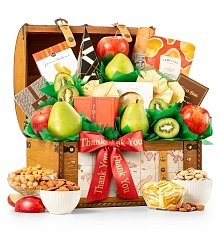 Fruit Baskets: Premium Grade Fruit and Gourmet Thank You Treasure